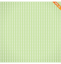 Abstract seamless pattern with dot flower on vector
