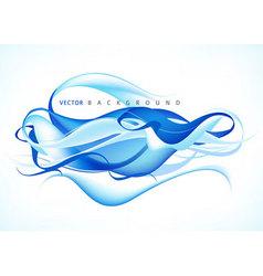 blue modern background vector image