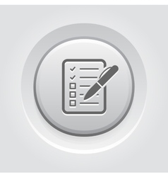 Check List Icon Business Concept vector