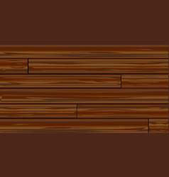 Dark wood boards vector