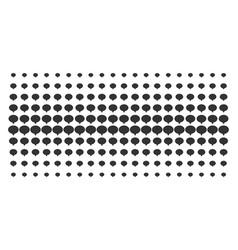 Hint shape halftone pattern vector
