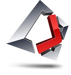 J 3d letter vector