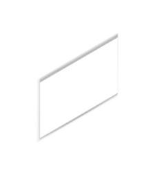 opened browser mockup isometric vector image