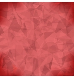Red Light Polygonal Mosaic Background vector