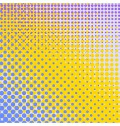 Set of Halftone Dots Comic Book Texture vector