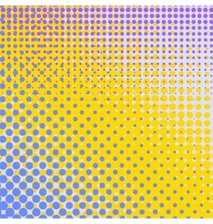 Set of Halftone Dots Comic Book Texture vector image