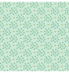 Small flowers pattern vector