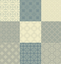 Vintage Pattern Collection vector image