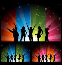 Night Club Life vector image vector image