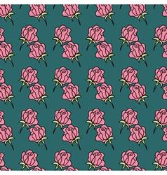 Rose seamless pattern1 vector