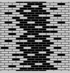 background of bricks vector image