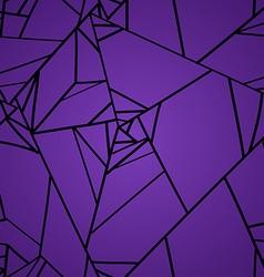 Seamless pattern of geometric rose flowers vector image