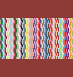 Stylish geometric wavy background vector