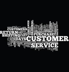 att customer service text background word cloud vector image vector image