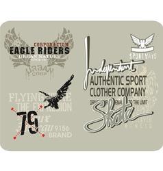 eagle 3 vector image
