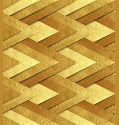golden metallic seamless pattern vector image