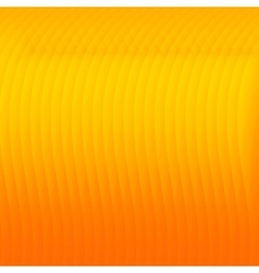 Orange abstract background with lines vector image vector image