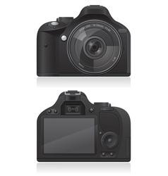 photo camera 03 vector image