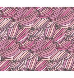Pinkwaves vector image