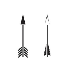 archery icon template vector image