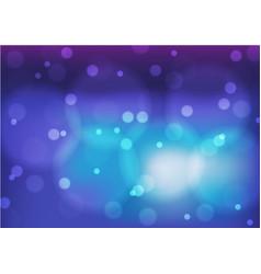 Bokeh blue background vector