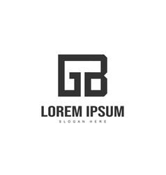 initial letter logo design minimal letter logo vector image