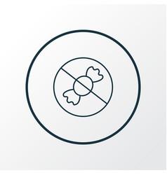 No sweet icon line symbol premium quality vector