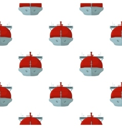 Oil tanker icon in cartoon style isolated on white vector image