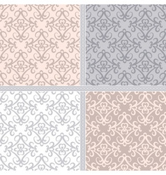 Pastel ethnic seamless pattern vector