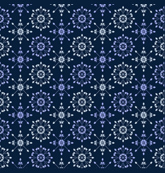 Seamless decorative pattern in vitage style vector
