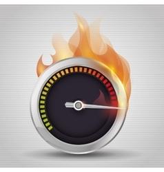 speed icon design vector image
