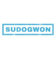 Sudogwon Rubber Stamp vector image