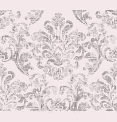 Vintage baroque ornamented background vector