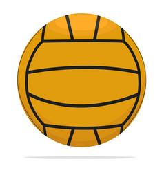 Volleyball ball icon game ball concept vector