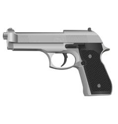 Black gun vector image vector image