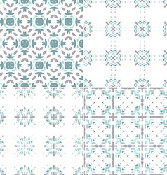 Blue Patterns vector image