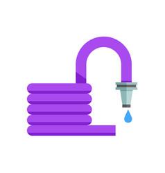 grden hose icon vector image