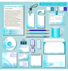 set of design templates for Business vector image vector image
