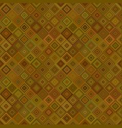 Abstract seamless diagonal square mosaic pattern vector
