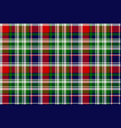 Classic plaid seamless pattern vector