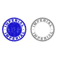 Grunge imperial textured watermarks vector