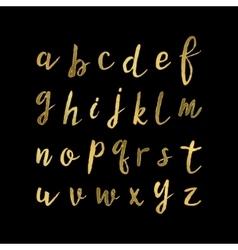 Hand drawn modern script vector