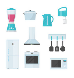 kitchenware kitchenware crockery cutlery vector image