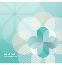 Petal shape Abstract Background vector