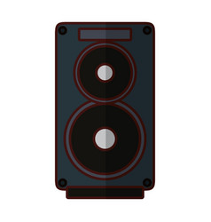 speaker music instrument vector image