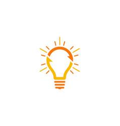 Transfer idea logo icon design vector