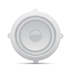 Icon loudspeaker Audio loud speaker vector image vector image