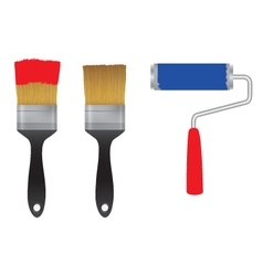 Brush Tools vector image