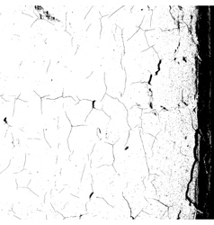 Cracked Overlay Background vector image vector image