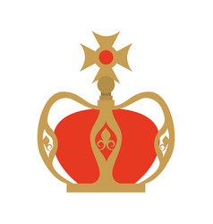 crown of the virgin mary vector image